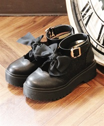 Platform shoes(Black-S)