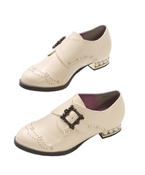 Monk Strap Shoes(Ecru-S)