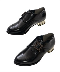 Monk Strap Shoes(Black-S)