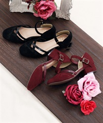 Embroidered Separate Pumps
