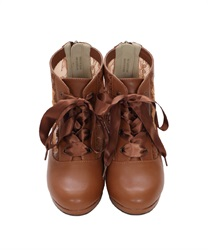 Lace-up boots(Camel-S)