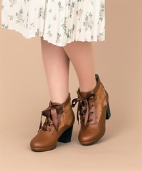 【Global Price】Lace-up boots