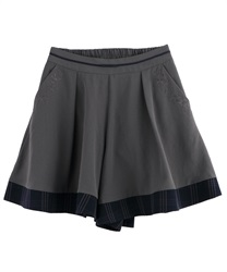 By COLOR flare culottes(Chachol-Free)