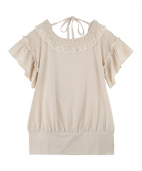 【axes femme yoga】Quick Dry Jersey Long T-Shirt(Ecru-Free)