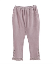 【2Buy10%OFF】Cut jodhpurs pants(Pale pink-Free)
