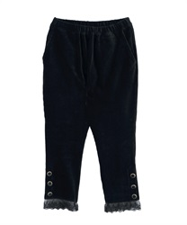 【2Buy10%OFF】Cut jodhpurs pants(Black-Free)