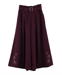 Wide pants_TS242X37(Wine-Free)