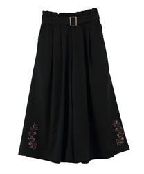Wide pants_TS242X37(Black-Free)