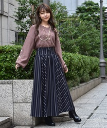 Wide pants_TS242X41(Navy-Free)