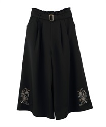 Wide pants_TS242X42(Black-Free)