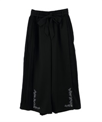 Side Pleated Wide Pants(Black-Free)