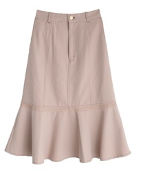 Flare tight skirt(Pale pink-Free)