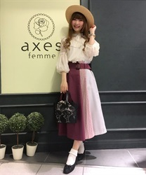 Skirt_TS285X45(DarkPink-Free)