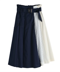 Skirt_TS285X45(Navy-Free)