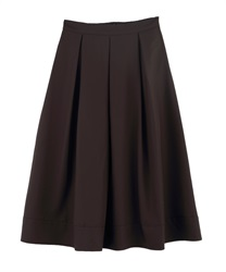 Ornament lengthMotifSkirt(Dark brown-Free)