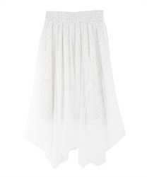 Tulle and Lace Irehem Skirt