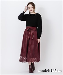 【2Buy10%OFF】Regime×tulle skirt(Wine-Free)