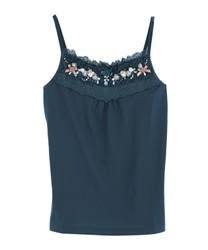 Pearl & Garden Camisole(Blue green-Free)