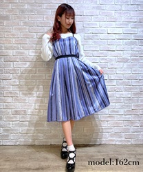 Stripe pattern dress