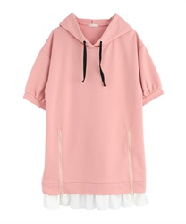 【2Buy10%OFF】Parker Dress(Pale pink-Free)