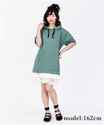 【2Buy10%OFF】Parker Dress(Green-Free)
