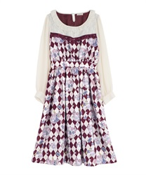 【2Buy10%OFF】Icing cookie dress(Wine-Free)