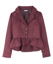 Classical jacket(Wine-Free)