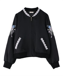 Bouquet Blouson(Black-Free)