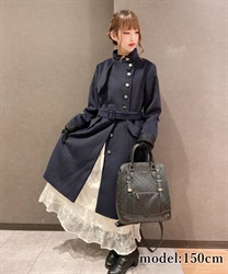Military style coat(Navy-Free)