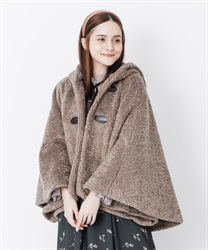 Girly boa cape pochon(Brown-Free)