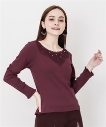 Long sleeve inner with lace