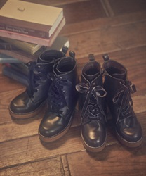 【Global Price】Lace-up boot