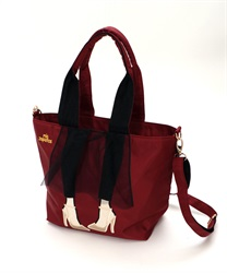 Lady with Tulle skirt Design Tote Bag 【Only at ONLINE SHOP】(Wine-M)
