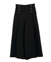 Wide pants_TY242X04(Black-Free)