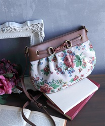 Jacquard shoulder bag(Ecru-M)
