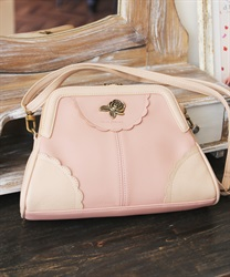 Purse shoulder bag(Pale pink-M)