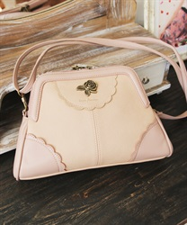 Purse shoulder bag(Beige-M)