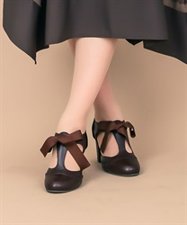 【Global Price】T-strap pumps