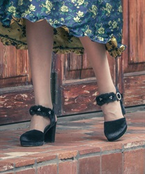 【Global Price】Stripe 2Way pumps