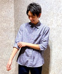 Paisle pattern men shirt