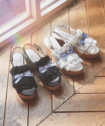 Cotton Lace Sandals