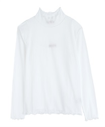 【2Buy10%OFF】Sheer cut pullover(Ecru-Free)