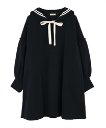 Sailor cut one-piece(Black-Free)
